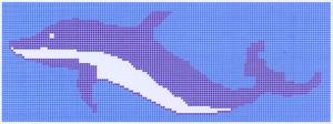 Golfinho Delfin grande